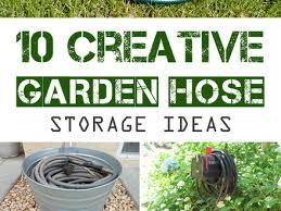 garden hose storage ideas. Garden Hose Storage Ideas Diy E