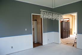 captivating dining room color ideas with chair rail images best