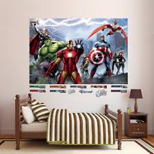 fathead avengers assemble mural real big wall decal marvel comic art decor new on marvel comics mural wall graphic with fathead hulk avengers wall mural graphics large format marvel comics