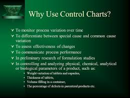 Why Use Charts Introduction To Control Charts Ppt Download