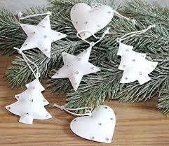 6 X Weihnachtsbaumanhänger Weihnachtsdeko Christbaumschmuck