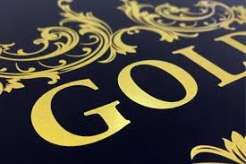 printing text gold silver printing metallic ink digital printing tph ca
