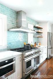 interior aqua backsplash tile motivate blue glass tiles with french hood regard to 2 from