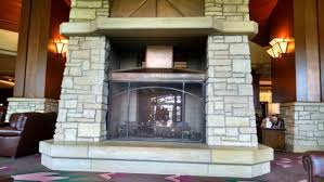 soaring eagle casino u0026 resort the huge stone fireplace in the main lobby s82 fireplace