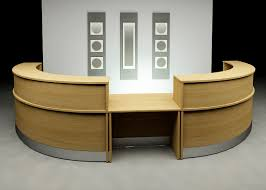 Inspiring minimalist front office furniture ideas Modern Cool Desk Designs For Workspace Office Workspace Acrylic Office Desk Interior Design Minimalist For Homedit Furniture Cool Desk Designs For Workspace Workspace Table Desk