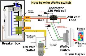 how to wire a contactor 8 steps with pictures beautiful voltage Contactor Coil Wiring Diagram pleasing voltage free contact wiring control 240 volt with wemo cool voltage free contact wiring contactor coil wiring diagram goodman