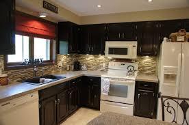 restaining kitchen cabinets darker