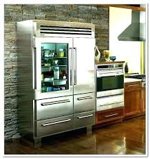 sub zero glass door fridge refrigerators mini with front refrigerator freezer combo stainless side by d