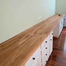 Counter Top Desks Build A Wall To Wall Built In Desk And Bookcase Countertop