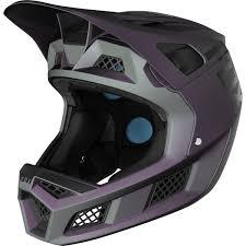Fox Downhill Mtb Helmet Rampage Pro Carbon Weld Black Iridium