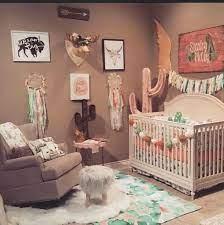 cactus nursery girl nursery room