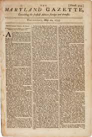 the state of the english colonies 1755 the gilder lehrman maryland gazette no 524 22 1755 gilder lehrman collection the french and n war