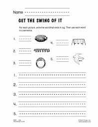 ing - Free Phonics Worksheet | consonant blends & digraphs ...