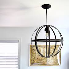 orb light fixture. Diy-orb-light Orb Light Fixture