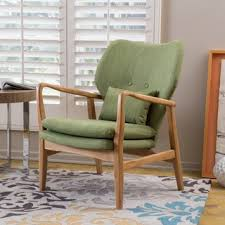 haddie wood frame club chair by christopher knight home chairs living room