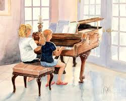 children painting the sister duet by marilyn smith