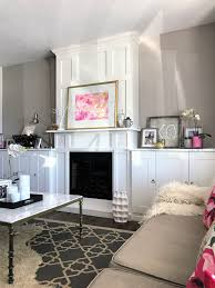 Fireplace Built Ins Living Room Built Ins Around An Electric Fireplace A Purdy