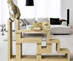 Space friendly furniture Furniture Design While Most Cat Trees Look Like Tacky Carpetcovered Towers Katris Brings Elegance Back To The Pet Industry This Environmentallyfriendly Modular Cat Tree Apartment Therapy 16 Stylish Spacesaving Pet Furniture Pieces Vurni