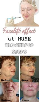 facelift effect at home in 3 simple steps beautytotal org