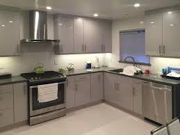 Grey Maple Kitchen Cabinets Flat Panel Maple Kitchen Cabinets