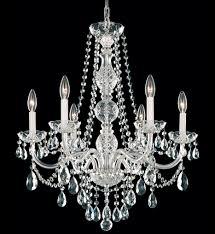 schonbek 1303 40h arlington 24 inch silver heritage handcut crystal chandelier