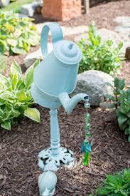 outdoor garden ideas. Diy Gardening Decor Ideas Garden Decorations Water Can D On Outdoor Backyard Decorating