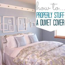 how to properly stuff a duvet cover a step by step guide with pictures