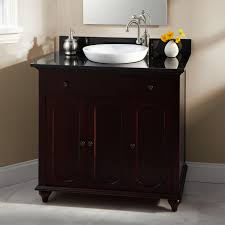 Single Vessel Sink Bathroom Vanity Bathroom Fresh Cherry Wood Bathroom Vanity For Cool Decoration