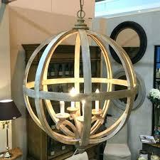 stanton 4 light chandelier 4 light chandelier large round wooden orb 4 light chandelier light it
