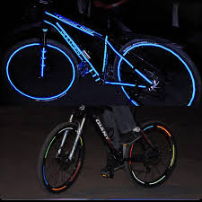 Sticker Light For Cycle Us 1 72 42 Off Bicycle Stickers Reflective Bike Sticker Waterproof Bicycle Accessories Cycling Reflective Tape Motorcycle Wheel Warn Bike Light In