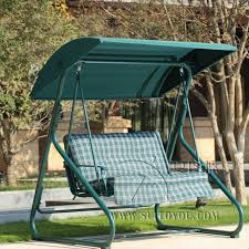 2 person leisure garden swing chair hammock outdoor cover bench patio furniture seat with canopy and