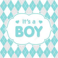 Congratulation On A Baby Its A Boy Vector Congratulation Baby Shower Card Cute