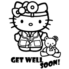 Small Picture Top 25 Free Printable Get Well Soon Coloring Pages Online