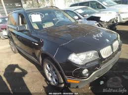 The 2008 bmw x3 is a small luxury crossover suv that comes in a single 3.0si trim level. Bmw X3 3 0si 2008 Black 3 0l Vin Wbxpc93488wj22724 Free Car History