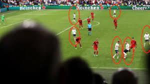 İngiltere-Danimarka maçındaki 161 saniyelik pas trafiği Avrupa Şampiyonası  tarihine geçti – Cep Sayfam