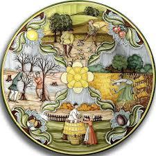 each italian ceramic wall decor masterpiece is handmade and hand painted in italy by master italian artisans  on italian plates wall art with wall decor ceramics italian pottery and ceramics italian decor