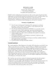 Security Analyst Resume Cover Letter Samples Cover Letter Samples