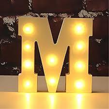 letter lighting. Light Up Wooden Alphabet Letter A To Z Carnival Decorative DIY LED Lights Sign Party Lighting I