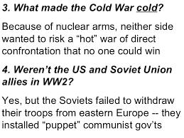 Cold War Resume