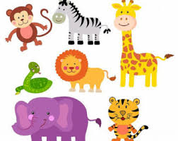 zoo animal clipart cute. Unique Zoo Printable Zoo Animals Clipart 1 On Animal Cute E