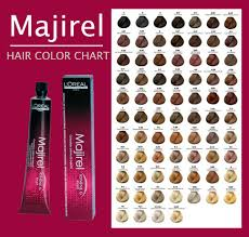 manufacturer loreal majirel hair color chart instructions ings