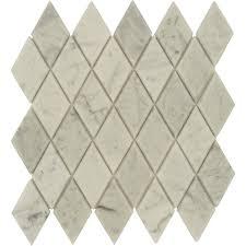 carrara marble tile. Carrara White Beveled Diamond Polished Marble Tile