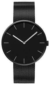 Наручные <b>часы Xiaomi TwentySeventeen</b> Light Fashion - Black metal