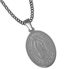 big oval virgen de guadalupe medalla guadalupe medal