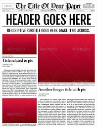 How To Create A Newspaper Template On Microsoft Word Newspaper Template Old Word Obituary Ms Microsoft Download