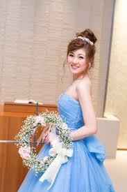新婦様のオシャレヘアスタイル スタッフブログ 花嫁 髪型 カラー