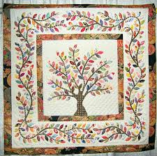 Hand Applique Quilts – co-nnect.me & ... Hand Applique Quilt Kits Hand Applique Quilt Tutorial Hand Applique  Quilt Blogs Leaves Of Spring Letitia ... Adamdwight.com