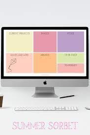 Seasonal Desktop Wallpaper Organizers ...