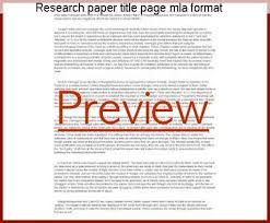 mla research paper title page research paper title page mla format coursework academic writing