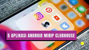 5 Aplikasi Android Mirip Clubhouse Terbaik 2021 - YouTube